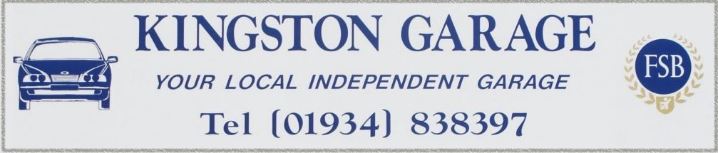 Kingston Garage Logo